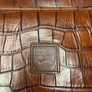 Dooney & Bourke vintage croc imprint leather